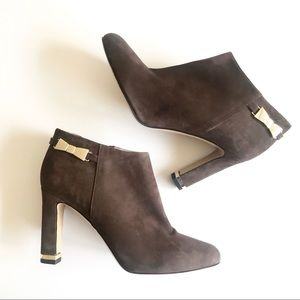 NWT Kate Spade Suede Leather Aldaz Ankle Boot 7.5
